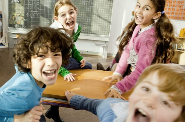 Geräuschpegel im Schulalltag