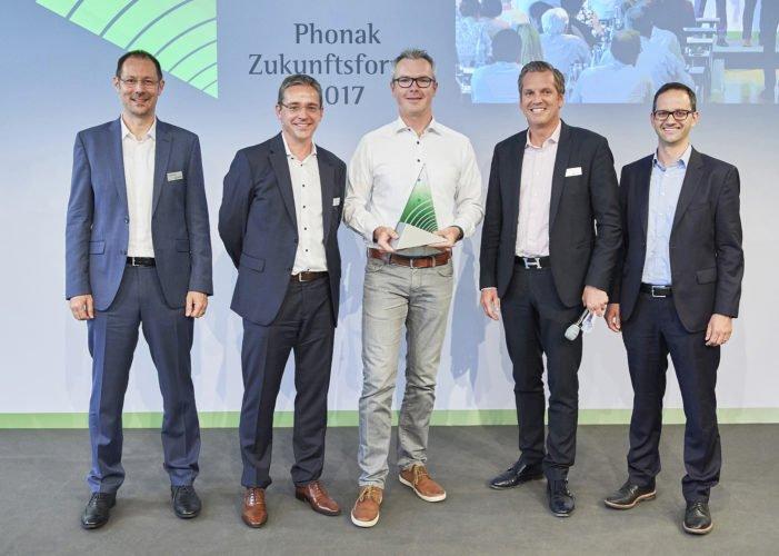 Future Hearing Award 2017 Lang, Baumann, Dunkel, Grieder, Heierle