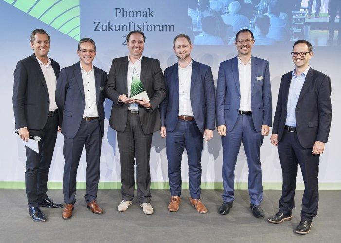 Future Hearing Award 2017 Baumann, Grieder, Leppert, Weidemann, Lang, Heierle