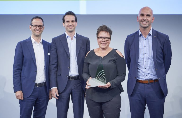 Future Hearing Award 2018 Heierle, Osswald, Konrad, Meier-Rentrop