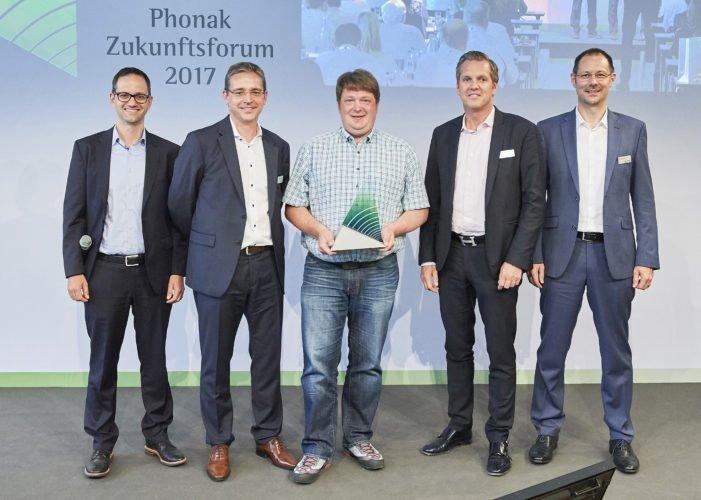 Future Hearing Award 2017 Heierle, Baumann, Wied, Grieder, Lang