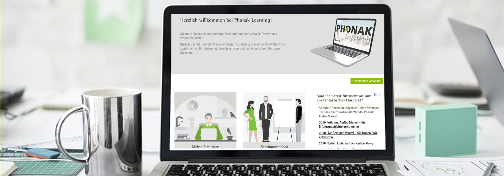 Phonak Learning Trainings und Tutorials